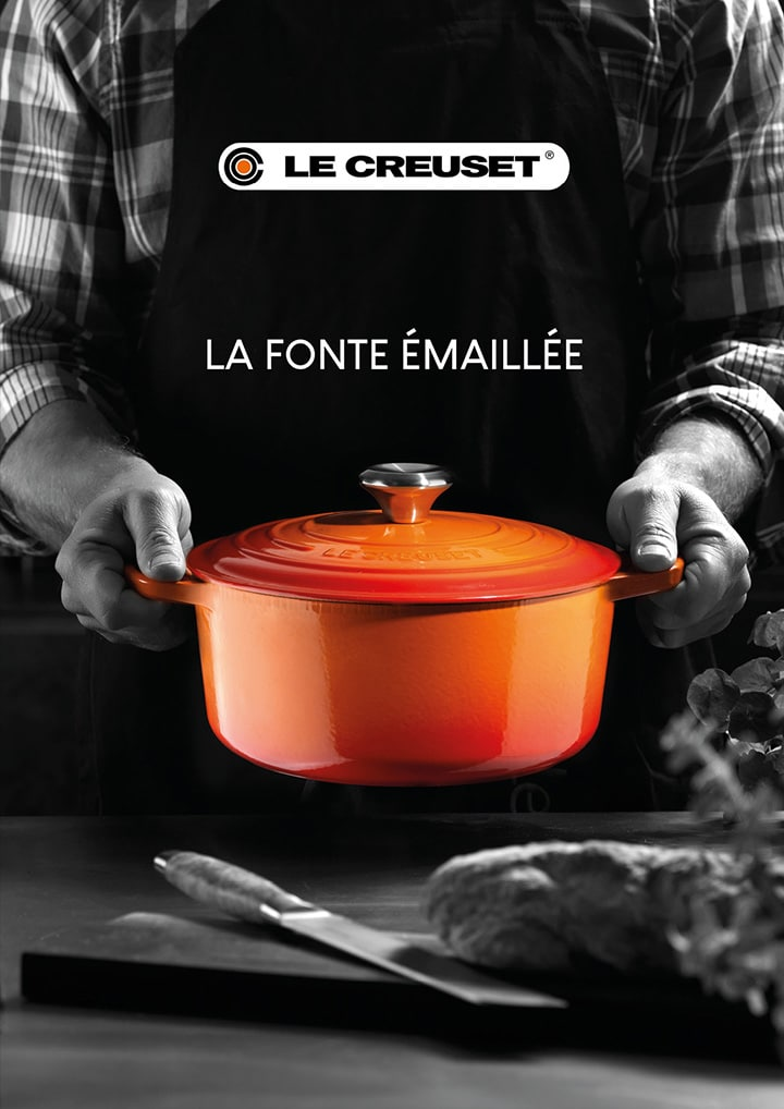 Flyer - Le Creuset, la fonte émaillée