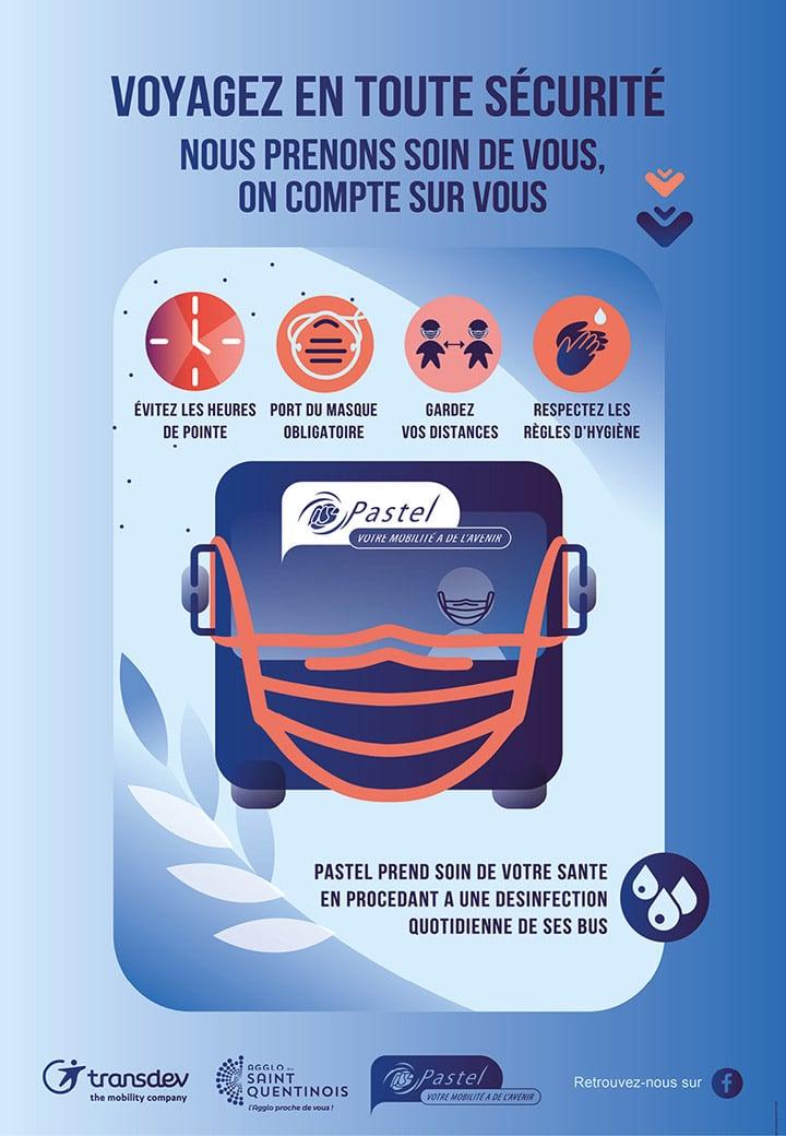 Flyer - Bus Pastel