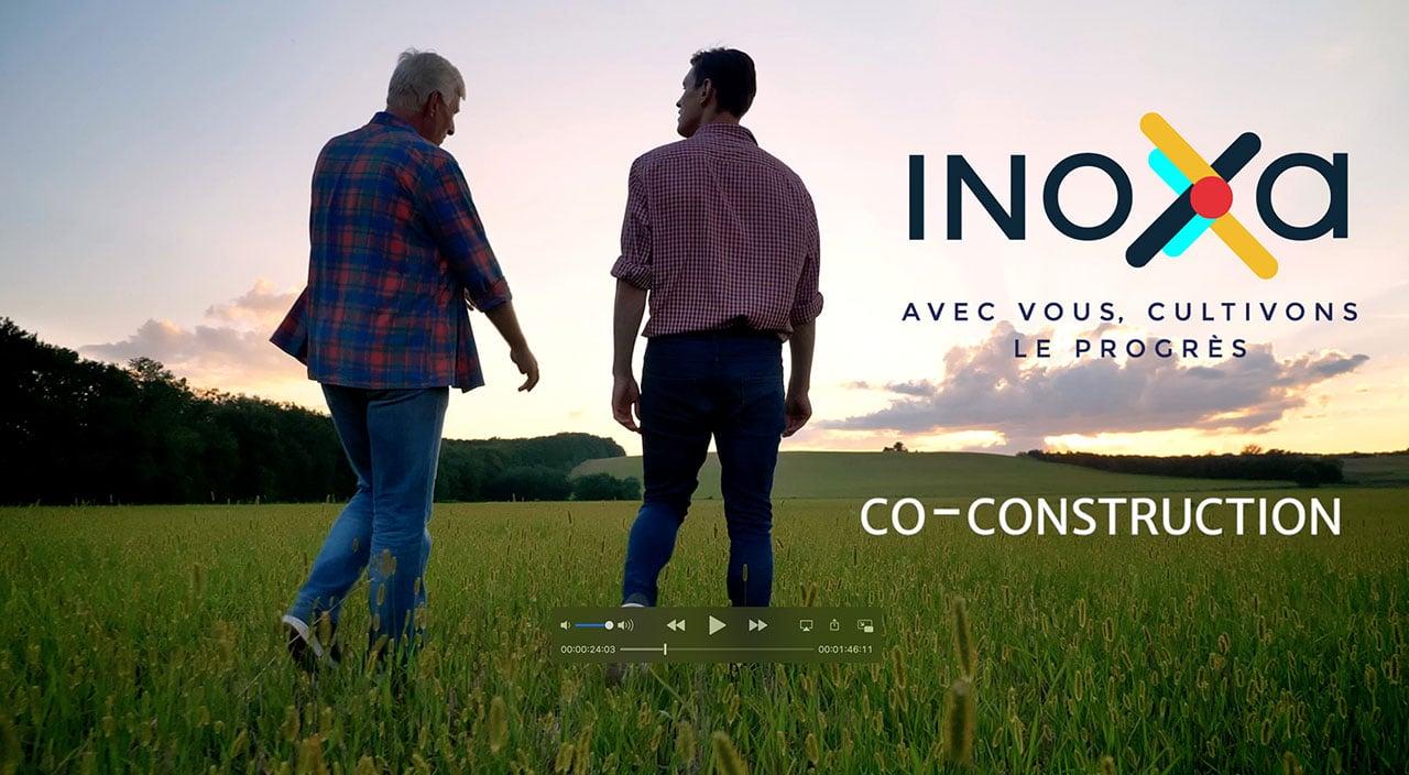 Vidéo - Inoxa, Avec vous cultivons le progrès